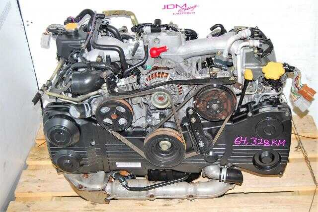 USED SUBARU IMPREZA WRX EJ205 ENGINE, 2.0 TURBO 2002-2005