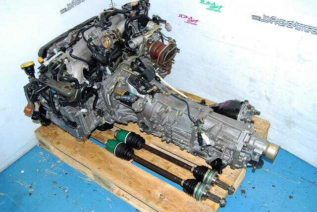 USED SUBARU IMPREZA WRX EJ205 ENGINE, 5SPEED TRANSMISSION LSD DIFF
