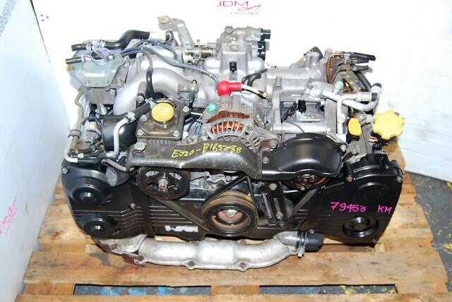 USED SUBARU EJ20 TURBO ENGINE,  WRX 02-05 2.0L TURBO MOTOR,