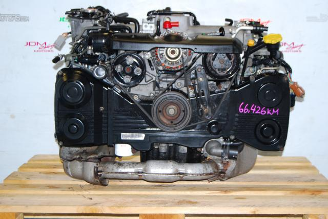 USED SUBARU EJ205 ENGINE, IMPREZA WRX 2002-2005 2.0 TURBO AVCS