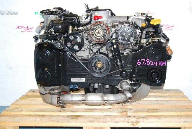 USED SUBARU EJ205 ENGINE TURBO AVCS, IMPREZA WRX 2002-2005 2.0L