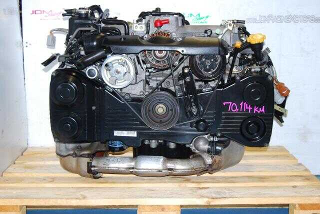 USED SUBARU EJ205 TURBO ENGINE, IMPREZA WRX 02-05 2.0L WITH AVCS
