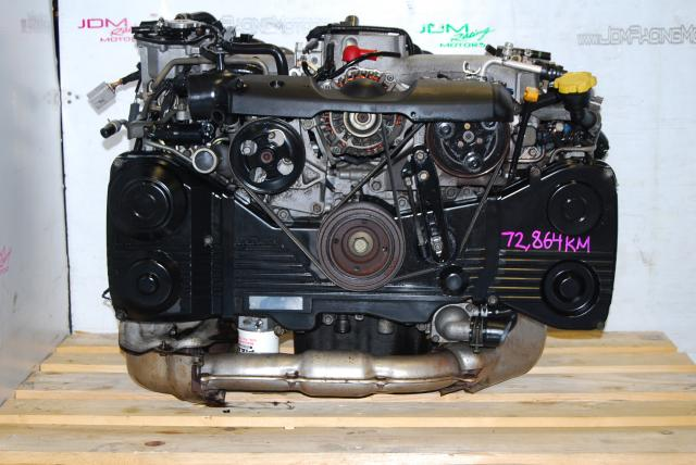 USED EJ205 ENGINE, SUBARU IMPREZA WRX 2002-2005 2.0 TURBO AVCS