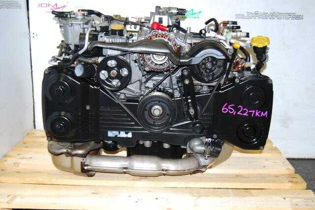 Used Subaru EJ205 Engine, WRX 2.0 Quad Cam 2002-2005 Turbo Motor