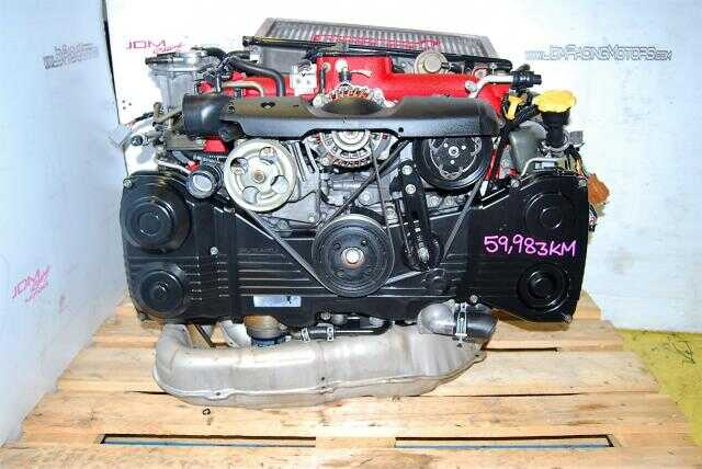 JDM EJ207 VER 8 STI ENGINE, VF37 TWIN SCROLL TURBO