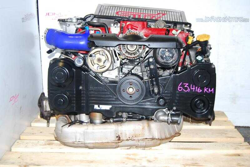 SUBARU WRX STI VER 8 EJ207 ENGINE, VF37 TWIN SCROLL TURBO, JDM