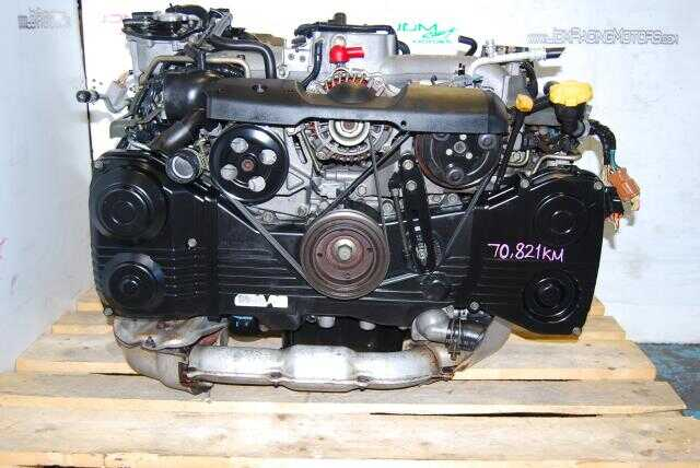 USED SUBARU EJ205 ENGINE, IMPREZA WRX 2002-2005 2.0 TURBO AVCS JDM