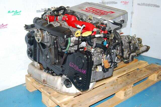 USED SUBARU WRX STI ver8 EJ207,  2002-2005 2.0 TWIN SCROLL TURBO TRANSMISSION