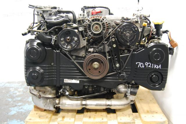 USED EJ205 AVCS SUBARU IMPREZA WRX ENGINE, LSD DIFF 5SPEED TRANSMISSION