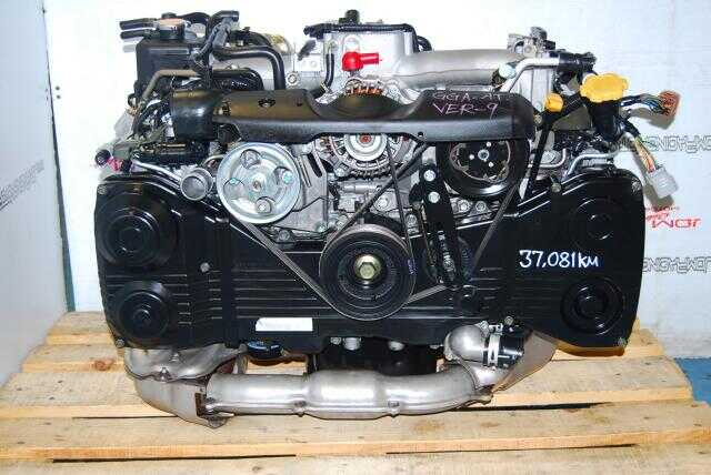SUBARU IMPREZA WRX ENGINE, EJ205 DOHC AVCS 2.0L TURBO VERSION 9