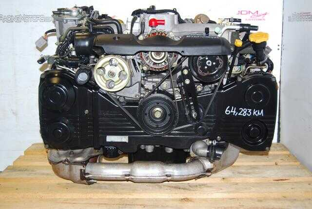 USED SUBARU EJ205 IMPREZA WRX ENGINE, AVCS TURBO 2002-2005 JDM 2.0L