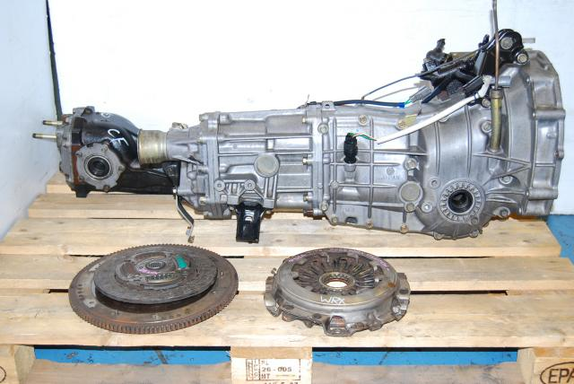 USED SUBARU 5 SPEED TRANSMISSION TY755VB3AA FOR WRX 2005-2007 WITH MATCHING DIFFERENTIAL AND CLUTCH