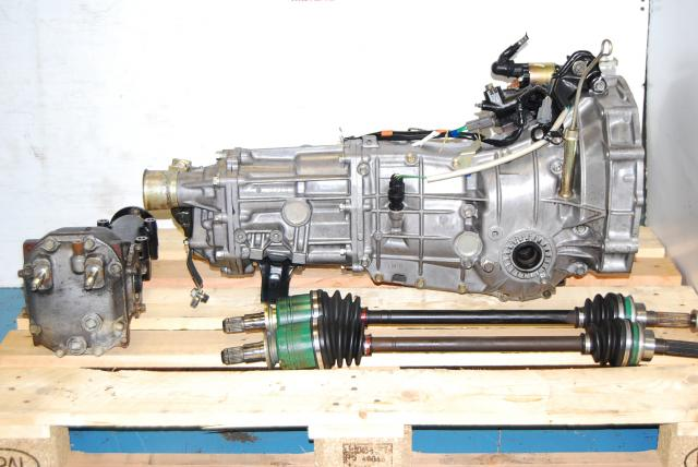 USED 5 SPEED MANUAL TRANSMISSION, SUBARU WRX 2002-2005, TY754VB5AA