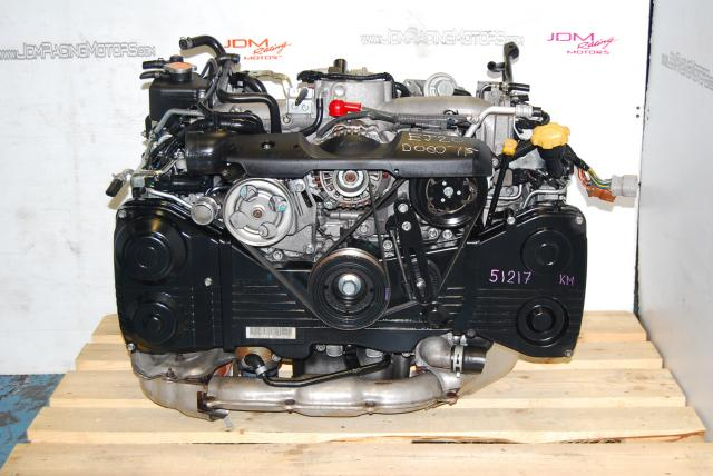 Used Subaru WRX 2002-2005 EJ205 Motor, Quad Cam AVCS Turbo Model 2.0L Engine