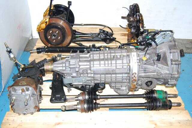 Forester STi 6-Speed TY856WL4CC Transmission Package, R180 3.9 Final Drive Differntials, Brembo Calipers & Axles