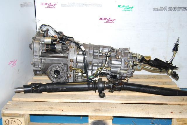Used WRX STi TY856WB7KA Manual Transmission, JDM 6-Speed S204 Complete 6MT