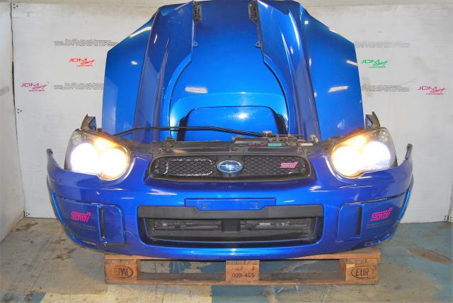 Used WRX STi v8 Front End Conversion, HID Headlights, Foglight Covers, Radiator & Rad Support