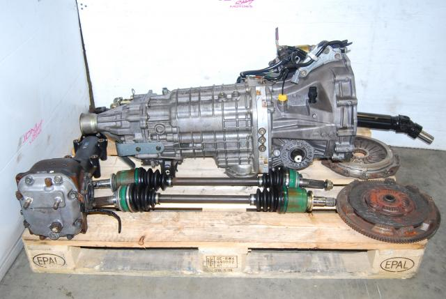 WRX STi 2002-2007 6-Speed TY856WB1AA Transmission Package with STi 3.9 Diff, Driveshaft, Clutch & Axles
