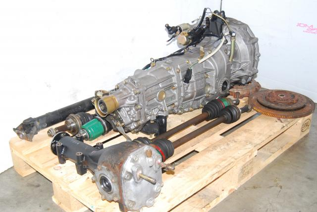 Used WRX 02-05 TY754VN2BA 5MT Replacement, JDM TY755VB4BA Transmission, 4.444 Diff, Axles & Driveshaft