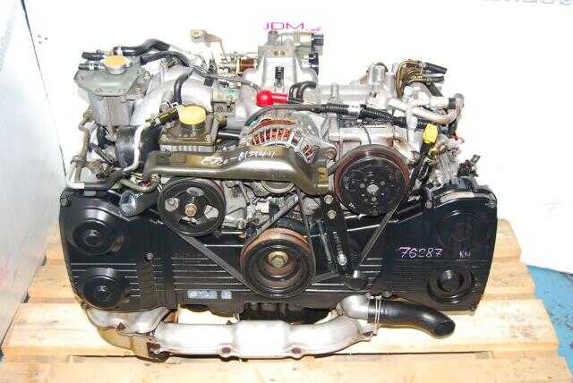 Used Impreza WRX 2002-2005 EJ20T Motor, Quad Cam 2.0L Turbo Model EJ205 Engine