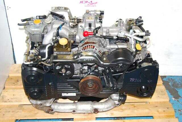 Used WRX 2002-2005 EJ205 Motor, Quad Cam 2.0L Turbo Model EJ20T Engine