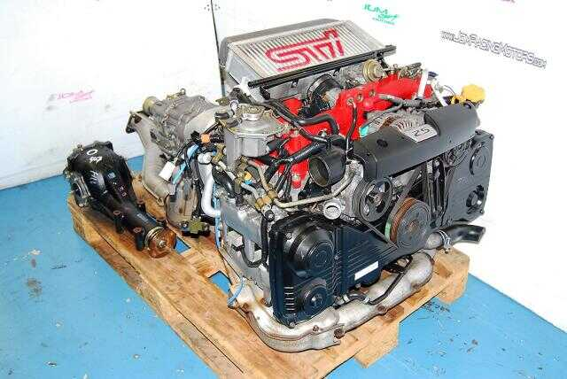 Forester / WRX STi 2.5L EJ255 Turbo Engine & TY856WL4CC 6-Speed R180 3.9 Transmission Package