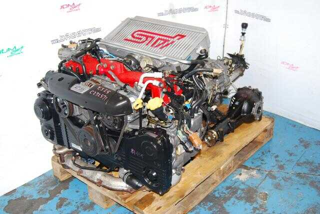 Used WRX / Forester STi 2.5L EJ255 Turbo Motor Only