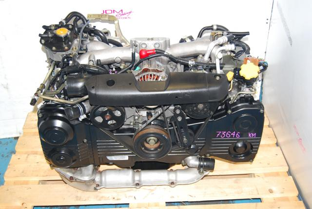 USED SUBARU WRX EJ205 TURBO ENGINE, 2002-2005 GD, AVCS
