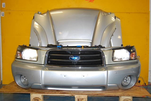 Used Forester 2003-2005 Complete Front End Conversion, SG Fenders, HID Headlights, Bumper, Hood & Hood Scoop