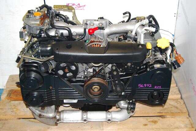 Used Subaru WRX 2002-2004 EJ20T AVCS Motor, Quad Cam AVCS EJ205 Turbo Engine