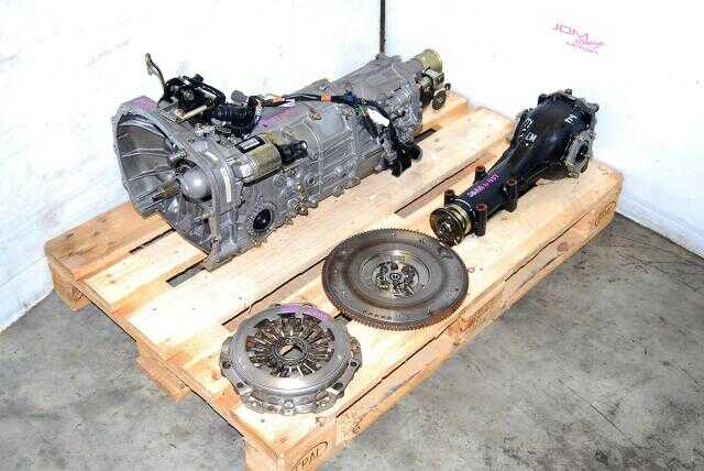 Impreza WRX 2005-2007 TY754VB6AA 5MT, JDM TY755VB3AA Replacement Manual Transmission with 4.444 LSD Differential
