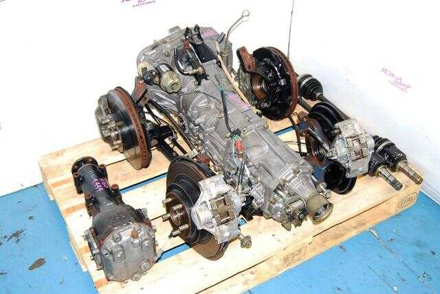 WRX Impreza transmission 02-05 TY754VN2BA 5MT Replacement, JDM TY755VB5BA Transmission, 4.444 Diff & Complete Brake Kit