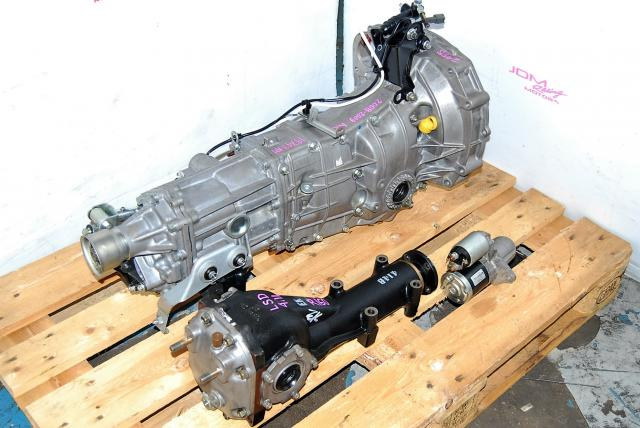 Impreza WRX 2008-2009 TY758VW1AA 5 Speed Transmission Replacement, JDM Push Type 5MT with 4.11 LSD Differential