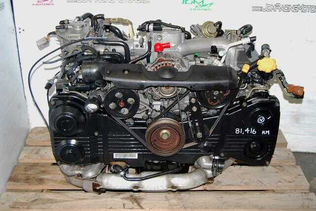 Impreza WRX 2002-2005 EJ205 Engine, Quad Cam AVCS Turbo Model 2.0L Motor