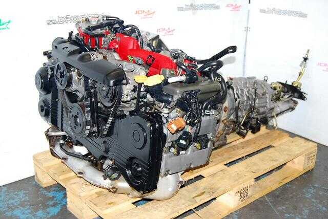 Used Impreza WRX STi EJ207 Version 7 Engine, 2002-2005 2.0L Quad Cam AVCS Complete Engine Package