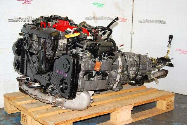 Impreza WRX STi 2002-2005 EJ207 Version 7 Engine, 2.0L Quad Cam AVCS Complete Engine Package