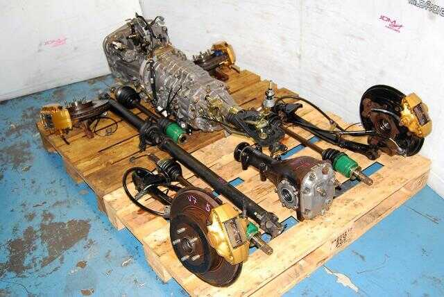 Subaru WRX STi 6 Speed Transmission Swap, TY856WB1CA Version 7 5x100 Complete 6MT Package