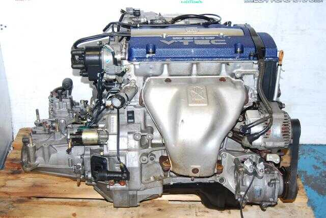 Used Honda Accord 1999-2002 F20B DOHC VTEC Engine & T2T4 LSD Manual Transmission Package