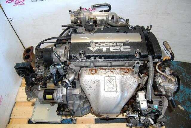 Used Honda Accord / Prelude 1992-1996 H22A DOHC VTEC Motor & M2B4 LSD Manual Transmission Complete Package