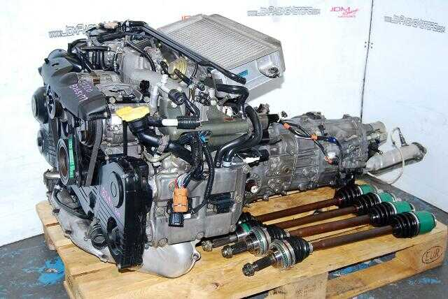 WRX 02-05 EJ205 AVCS Motor & Transmission, Quad Cam Turbo 2.0L EJ20T Engine & 5MT LSD Package