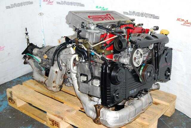Impreza WRX STi 2002-2005 EJ207 version 8 STI Engine 2.0L Complete Motor & DCCD Transmission Package