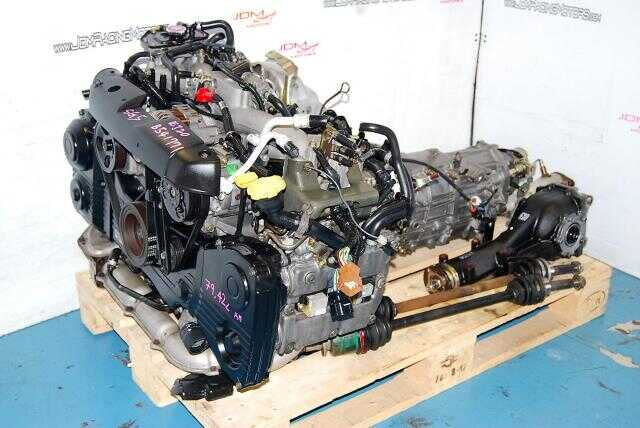 Used WRX 2002-2005 EJ20T AVCS Engine & Transmission, Quad Cam Turbo 2.0L EJ205 Motor & 5MT LSD Package