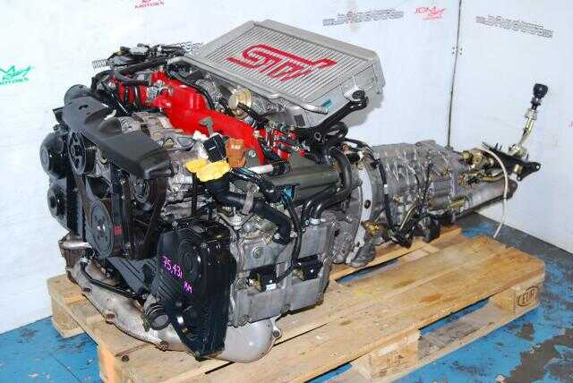 WRX STi Version 7 02-05 EJ207 Engine 2.0L Complete Engine & TY856WB1CA Transmission Package