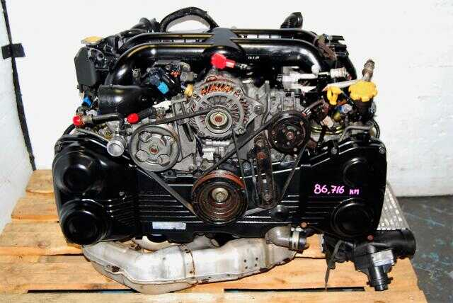Legacy 2004-2005 EJ20X Motor with Twin Scroll Titanium VF38 Turbo, BP5 BL5 Quad AVCS DOHC EJ20Y Engine