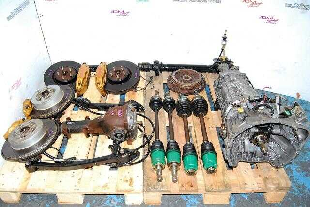 Impreza WRX STi 6MT Swap, TY856WB1CA Version 7 5x100 Complete Transmission Package