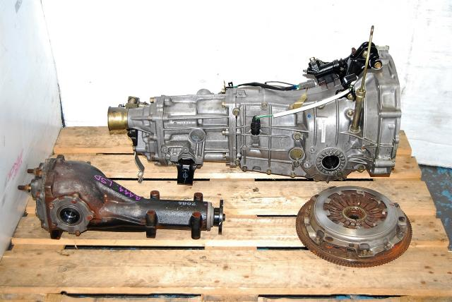 Impreza WRX 2005-2007 5-Speed Manual Transmission & LSD R160 4.444 Differential, JDM 05-07 TY754VB6AA Replacement 5MT