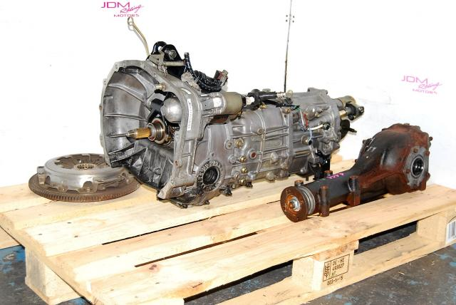 WRX 2005-2007 5 Speed Manual Transmission Package with 4.444 Differential, Flywheel & Pressure Plate, JDM 5MT Replacement
