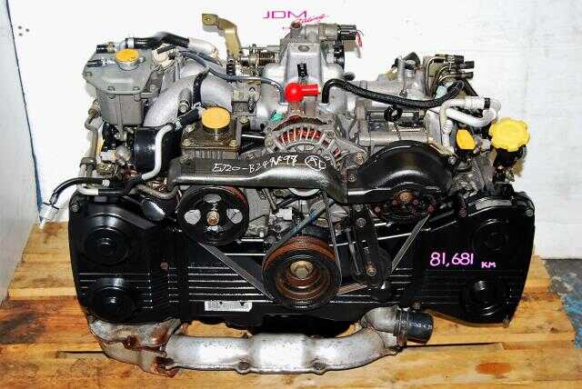 Subaru WRX EJ20T Engine, 2.0l 2002-2005 EJ205 Turbo DOHC Replacement Motor