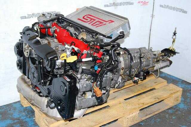 WRX 02-05 EJ207 Version 8 STI Motor, DOHC 2.0L Complete Engine & DCCD 35:65 Transmission Package
