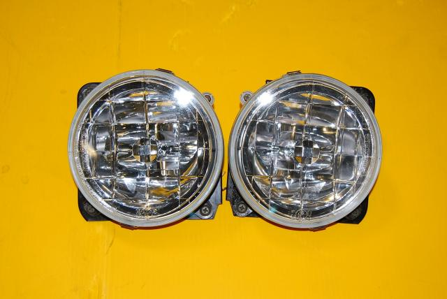 WRX STi Version 7 2002-2003 Foglights For Sale, JDM Bugeye Fog Assembly with Mounting Brackets